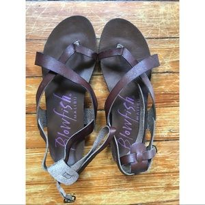 Leather Greek Style Sandals